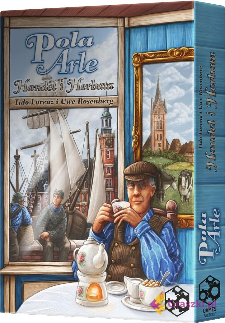 Pola Arle: Handel i herbata | Games Factory
